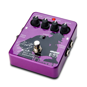 The EBS Billy Sheehan Signature Drive, to be released at NAMM 2013