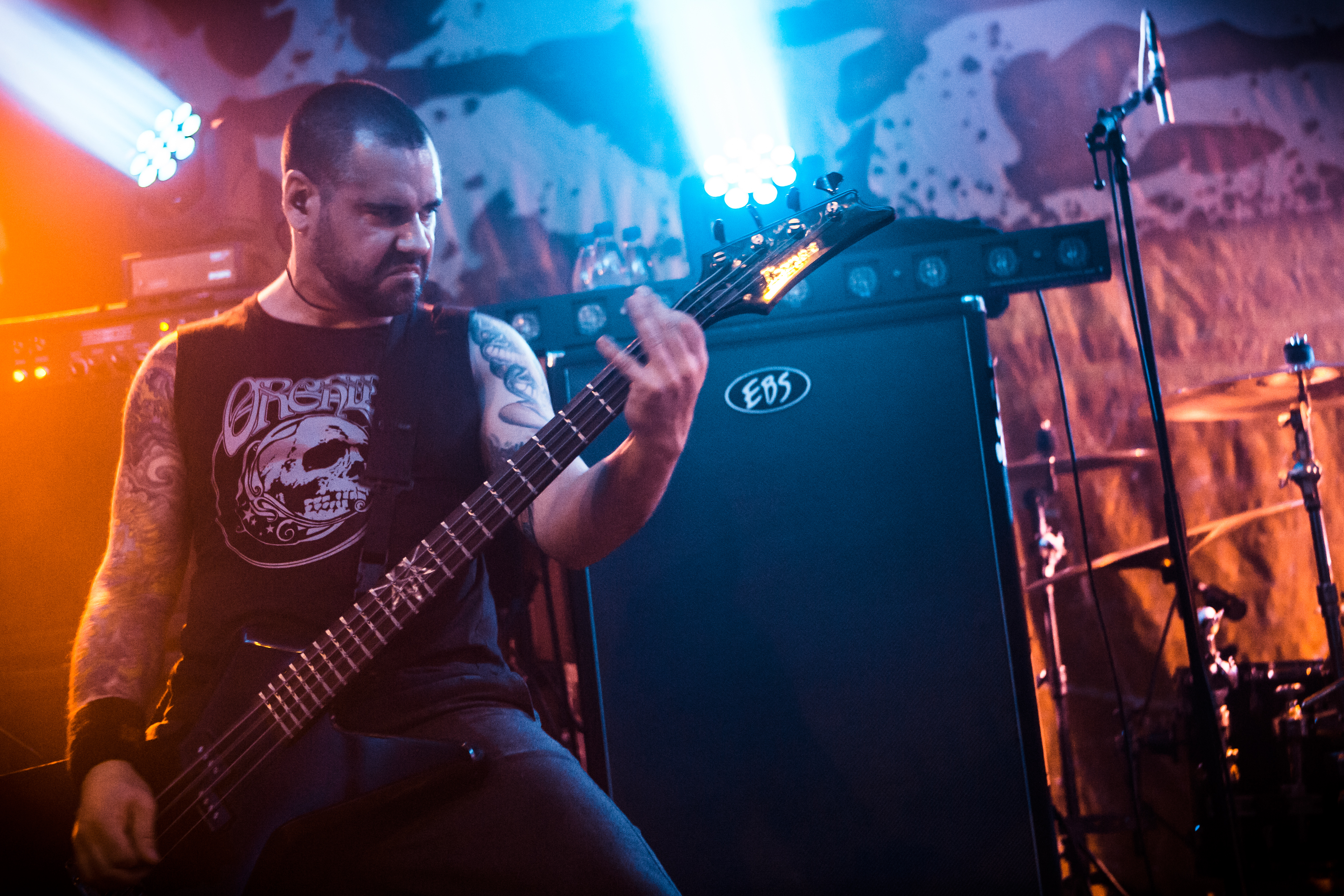 Mike D'Antonio - Killswitch Engage Photo: Daniel Falk